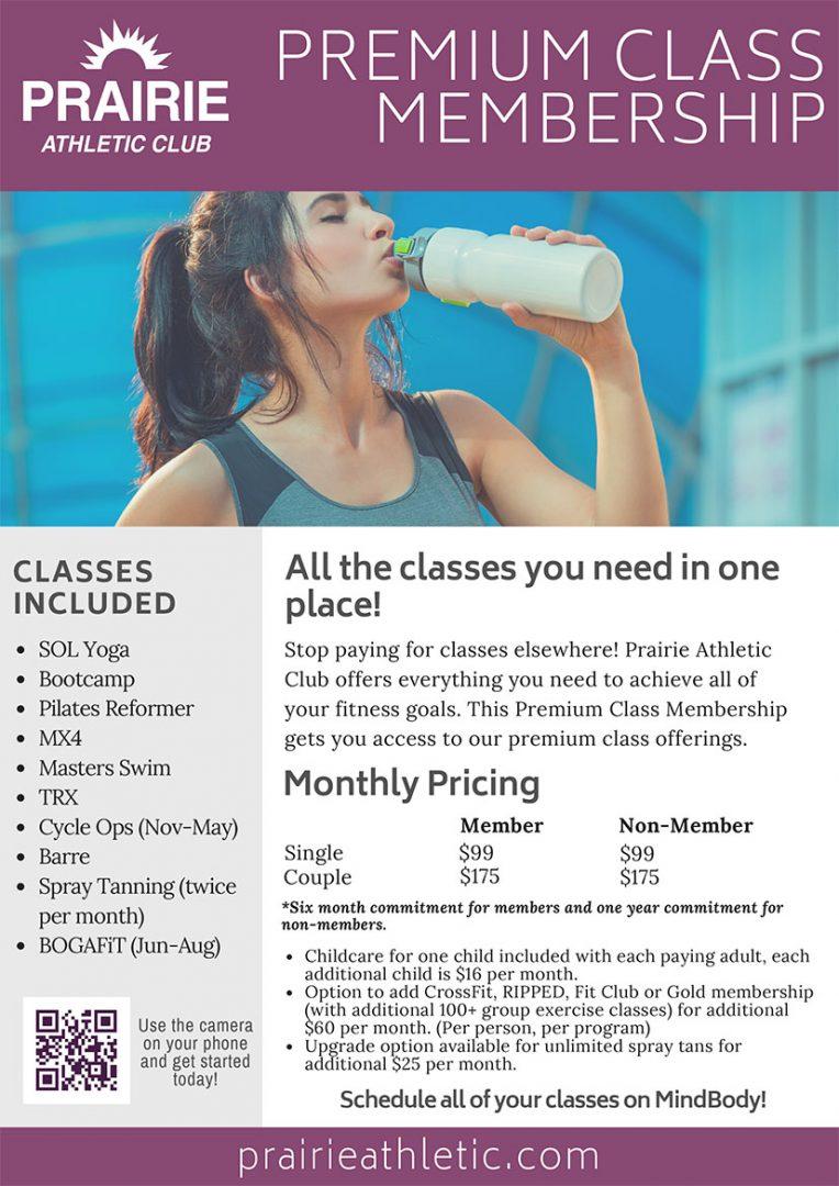 Premium Class Membership at Prairie Athletic Club