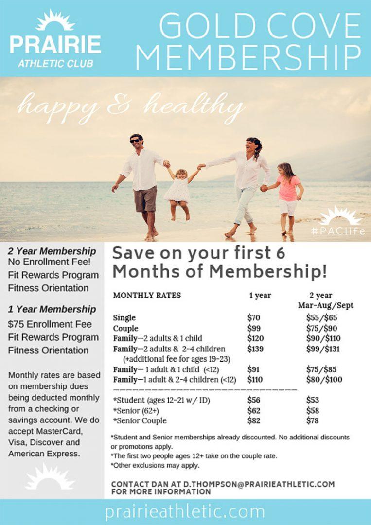 PAC Membership Sale April 2019