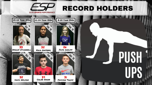 ESP Record Board - Push Ups