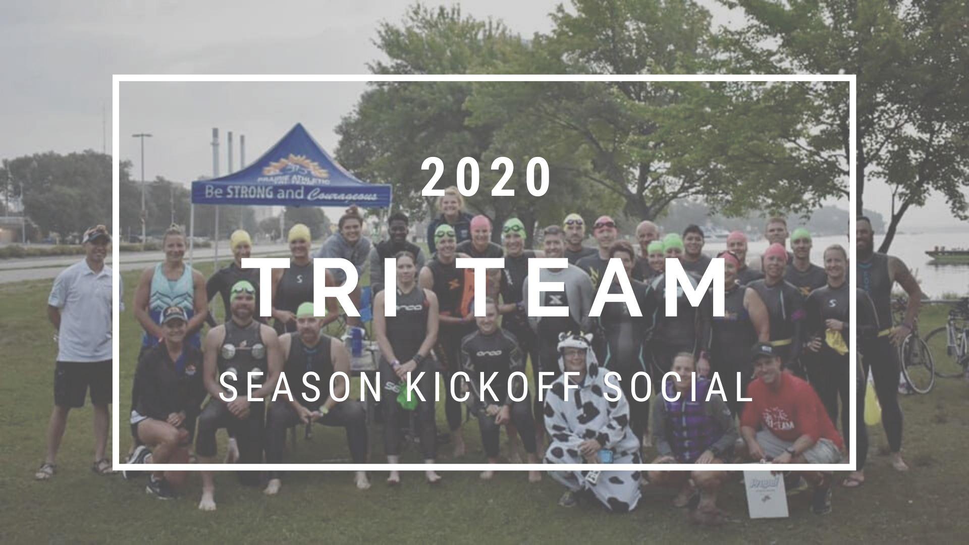 2020 Tri Team Season Kickoff Social