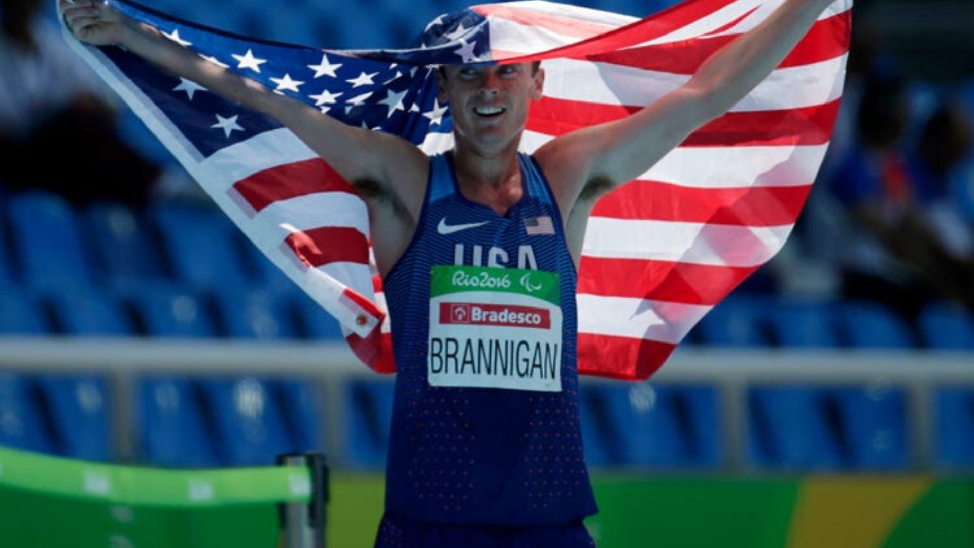 Mikey Brannigan Paralympic Gold