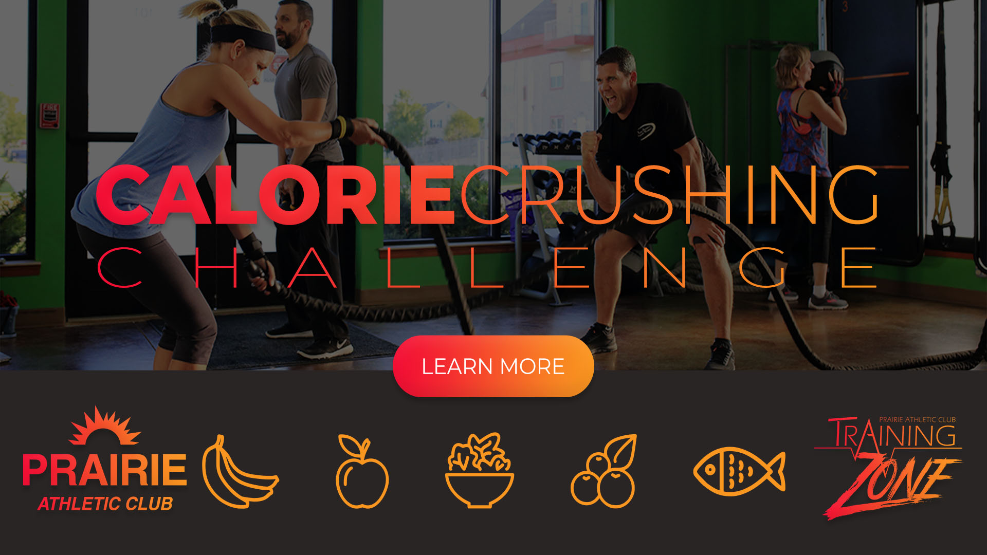 Calorie Crushing Challenge at Prairie Athletic Club (4 Learn More)